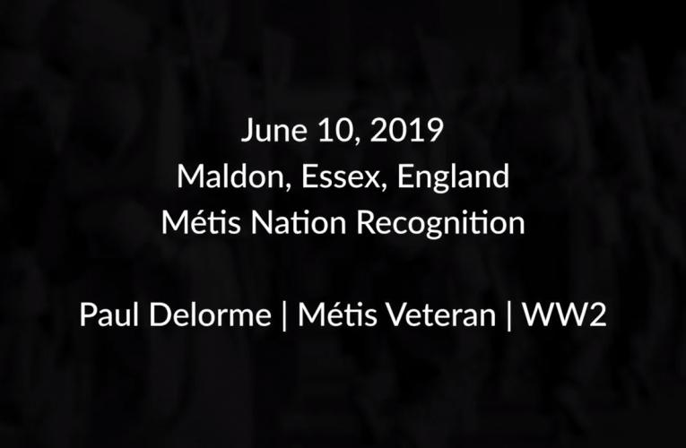 Paul DeLorme – Métis Veteran – WWII