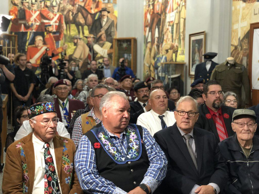 Métis Veterans Receive Apology from Canada