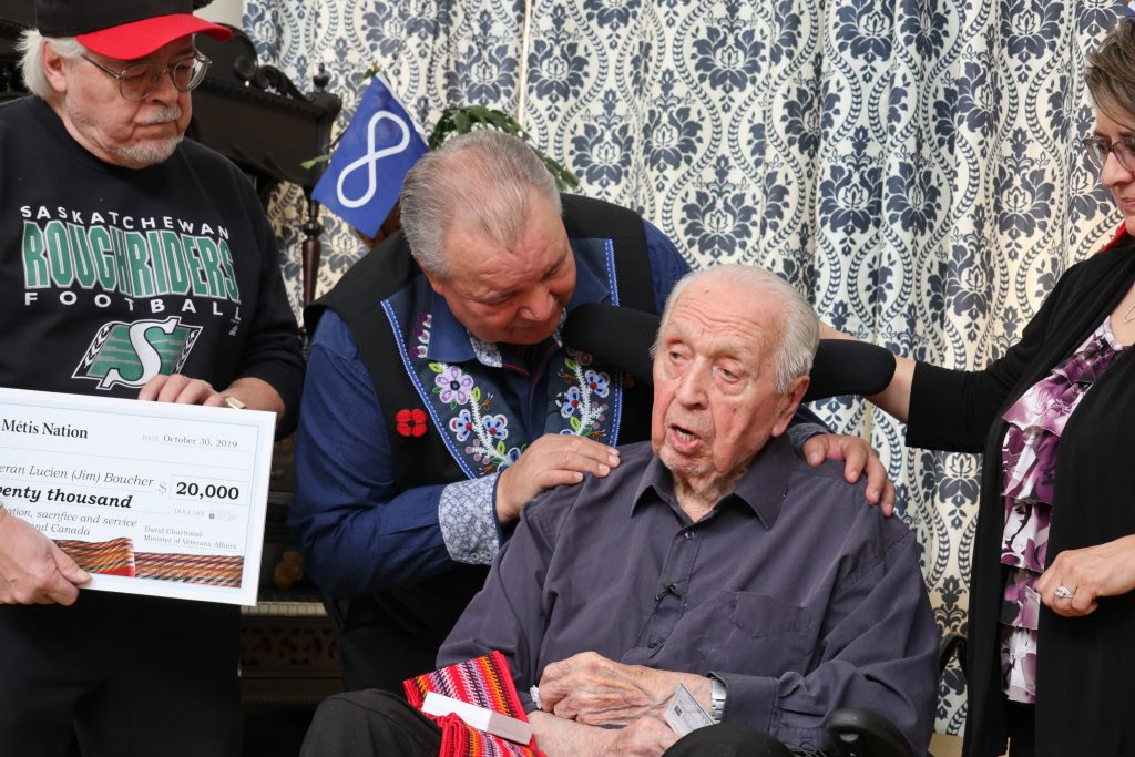 Métis Nation Second World War Heroes honoured in Saskatchewan