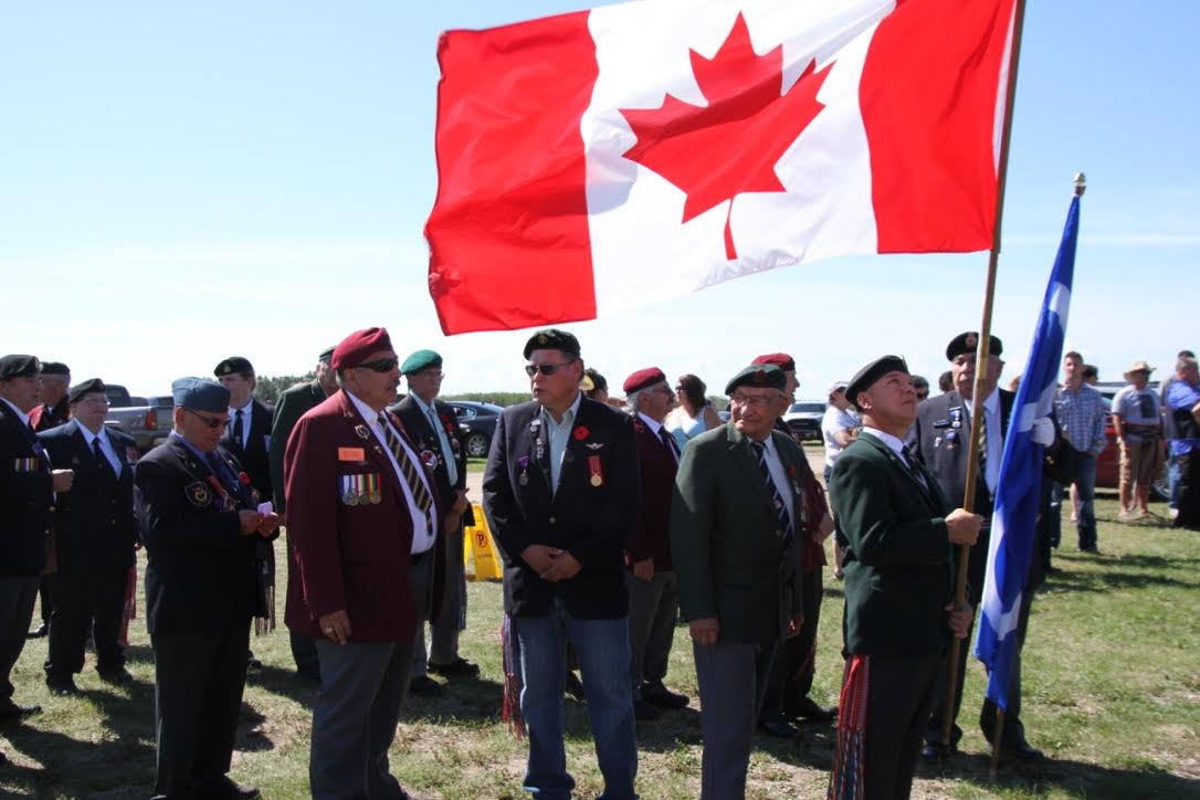 Métis Veterans Monument July 16. 2016