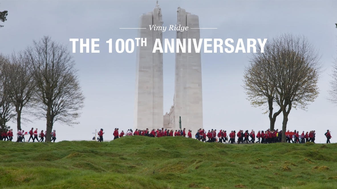 Vimy Ridge 100th Anniversary, April 10,  2017