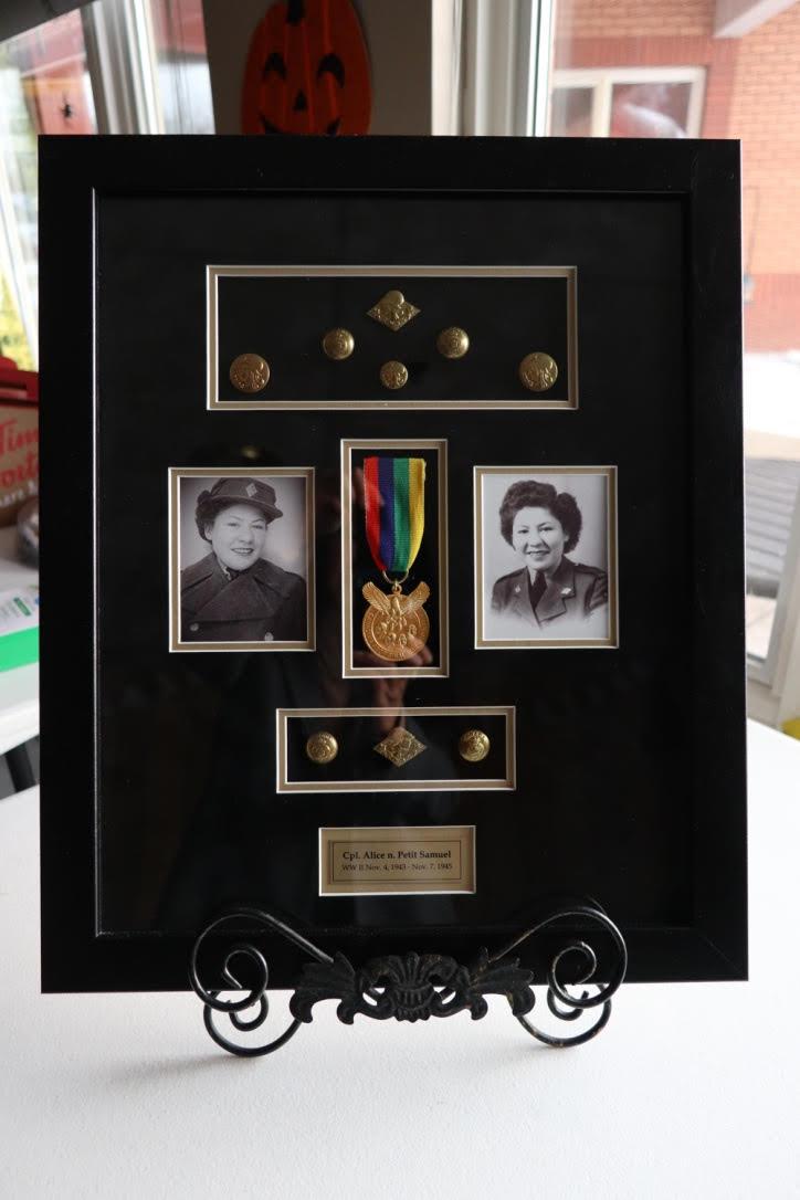 WWII Métis Veteran Alice Samuel (SK)