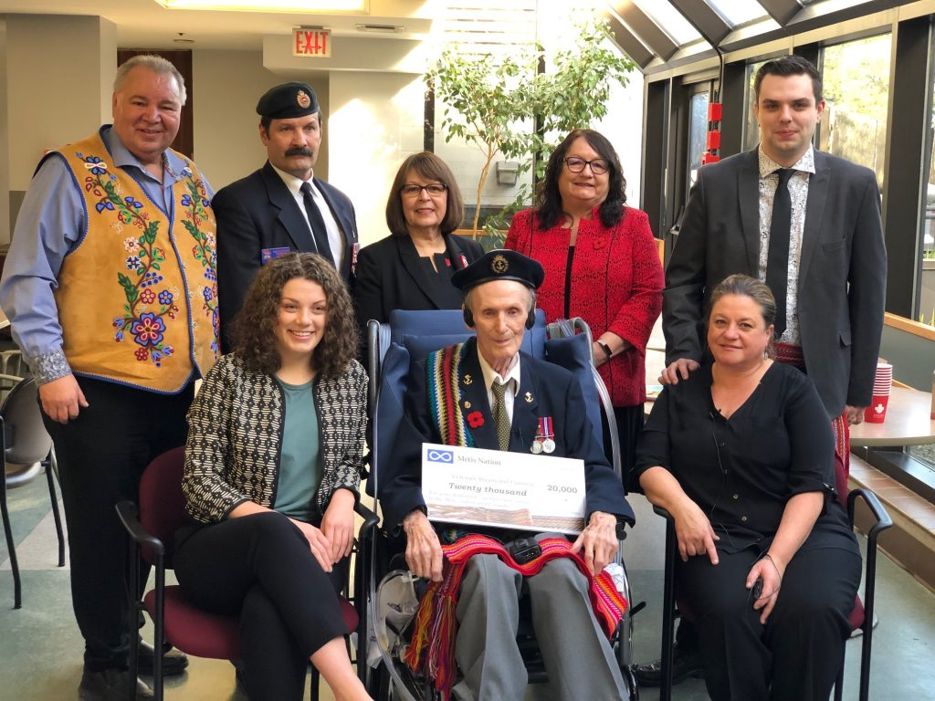 Métis Nation Second World War Heroes Honoured in Burnaby