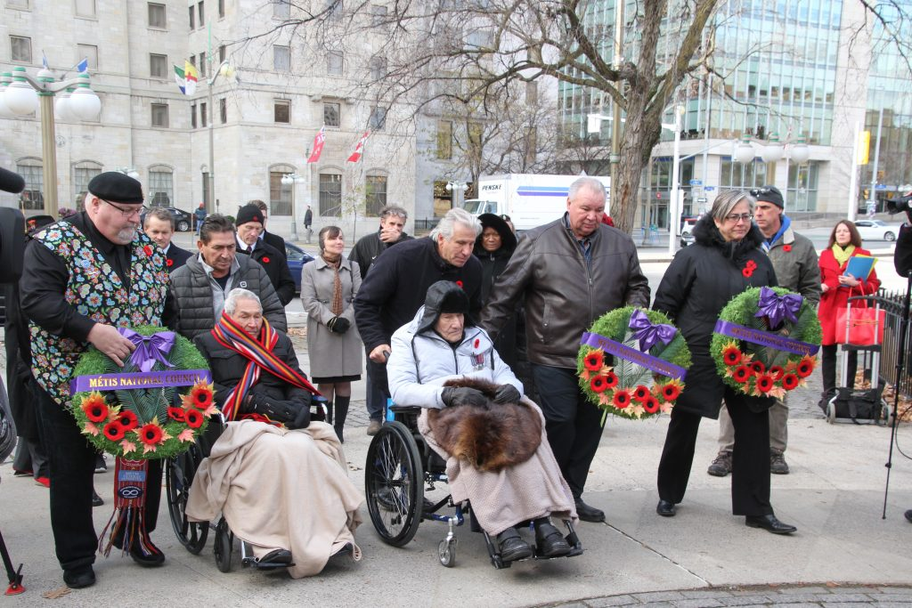 Métis Nation Honours Two Second World War Veterans on National Aboriginal Veterans Day in Ottawa