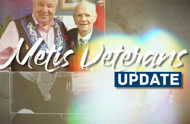Métis Veterans Updates