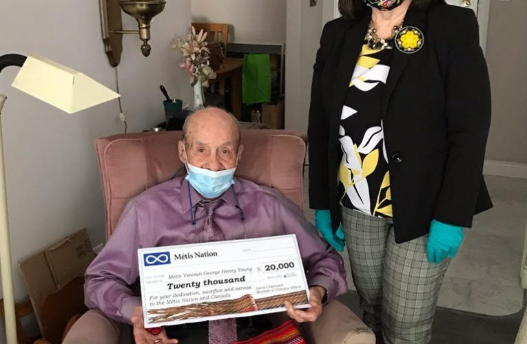Métis Nation Second World War Hero Honoured in Victoria