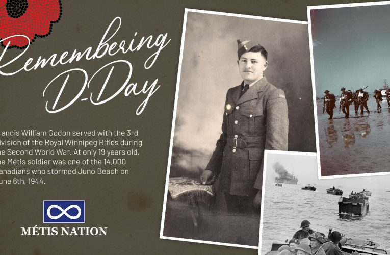 Statement by the Métis National Council's Minister Responsible for Veterans on the 77th anniversary of D-Day and the Battle of Normandy
